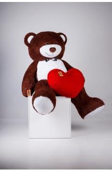 Плюшевый мишка с сердцем Ричард 200 см
