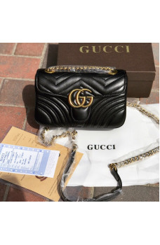 Сумка Gucci Marmont Black 028