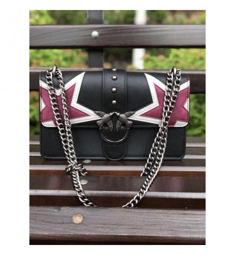 Стильная женская сумочка Pinko Black Star 004