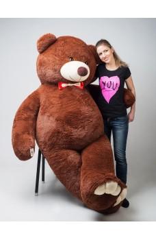 Кевин 250 см коричневый