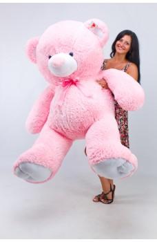 Огромный плюшевый мишка Томми розовый 2 метра