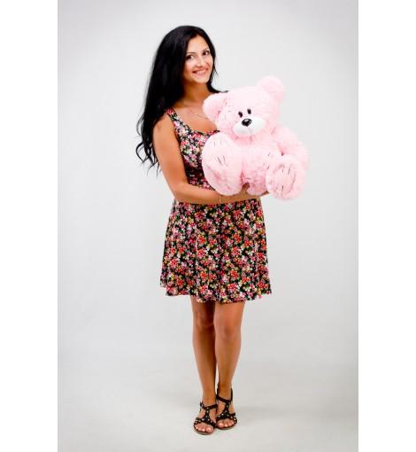 Плюшевый мишка Гриша розовый 50 см