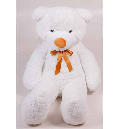 Плюшевый мишка Тедди белый 140 см