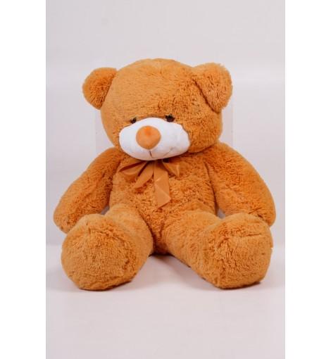 Плюшевый мишка Тедди карамель 100 см
