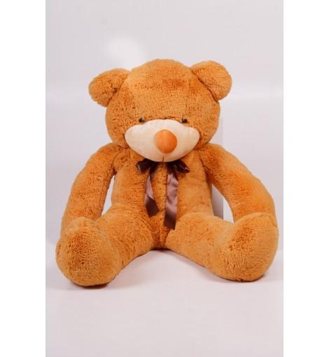 Плюшевый мишка Тедди карамель 120 см