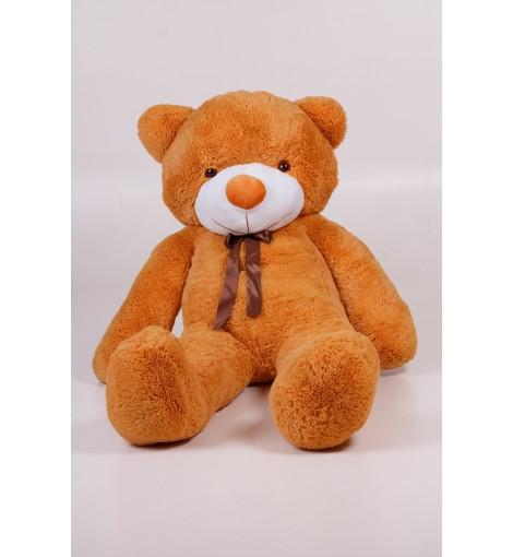 Плюшевый мишка Тедди карамель 180 см