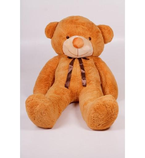Плюшевый мишка Тедди карамель 200 см