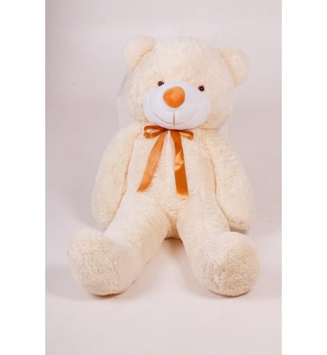 Плюшевый мишка Тедди кремовый 120 см