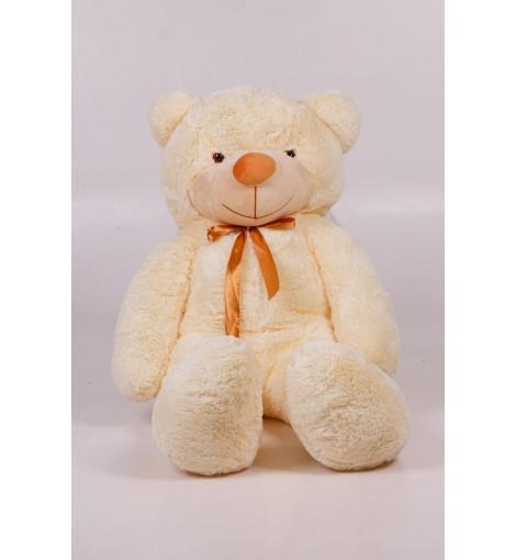 Плюшевый мишка Тедди кремовый 140 см