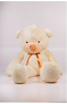 Плюшевый мишка Тедди кремовый 200 см