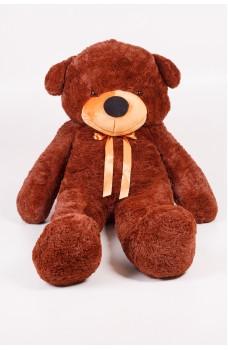 Плюшевый мишка Тедди шоколадный 180 см