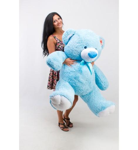 Купить Плюшевого мишку Томми голубого 150 см