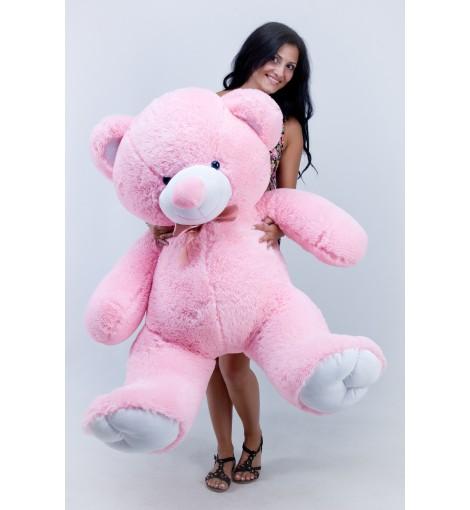Плюшевый мишка Томми розовый 150 см