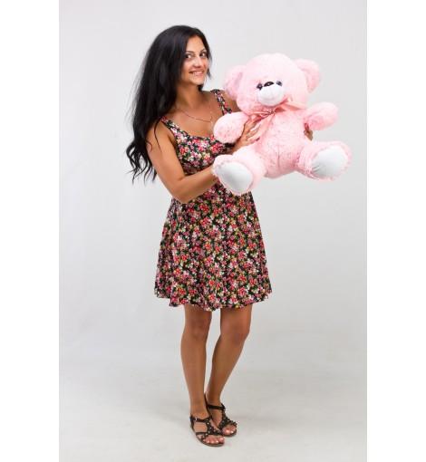 Плюшевый мишка Томми розовый 50 см